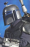 Jango Fett, in Star Wars: Episode II -Attack of the Clones