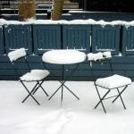 Bryant Park Winter Seating