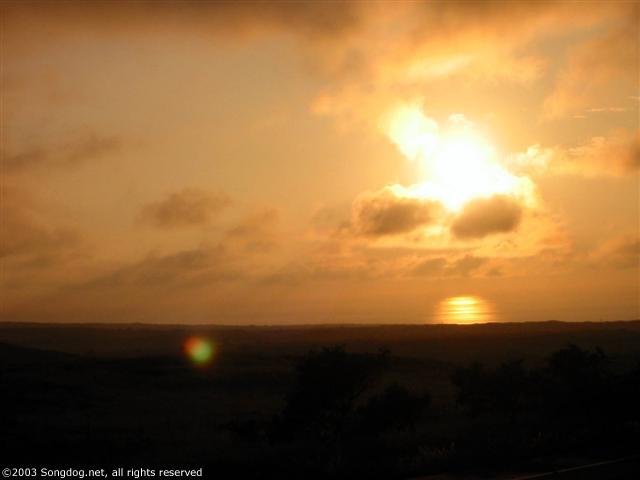 Waimea Highway Sunset