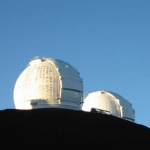 Keck Domes From Below