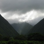 Between Waipi'o Hills